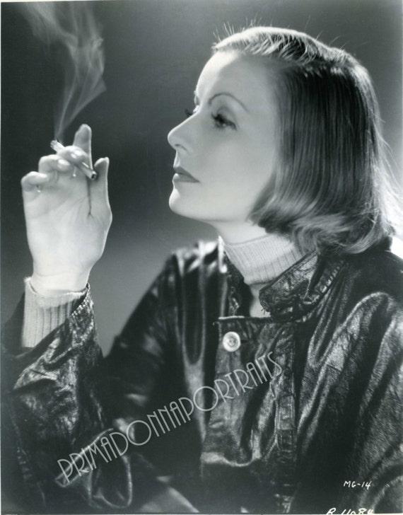Greta Garbo portrait 8x10 photo