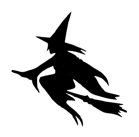 A4 /& A3 HALLOWEEN WITCH MYLAR STENCIL HOME DECOR PAINTING WALL ART 190 MICRON