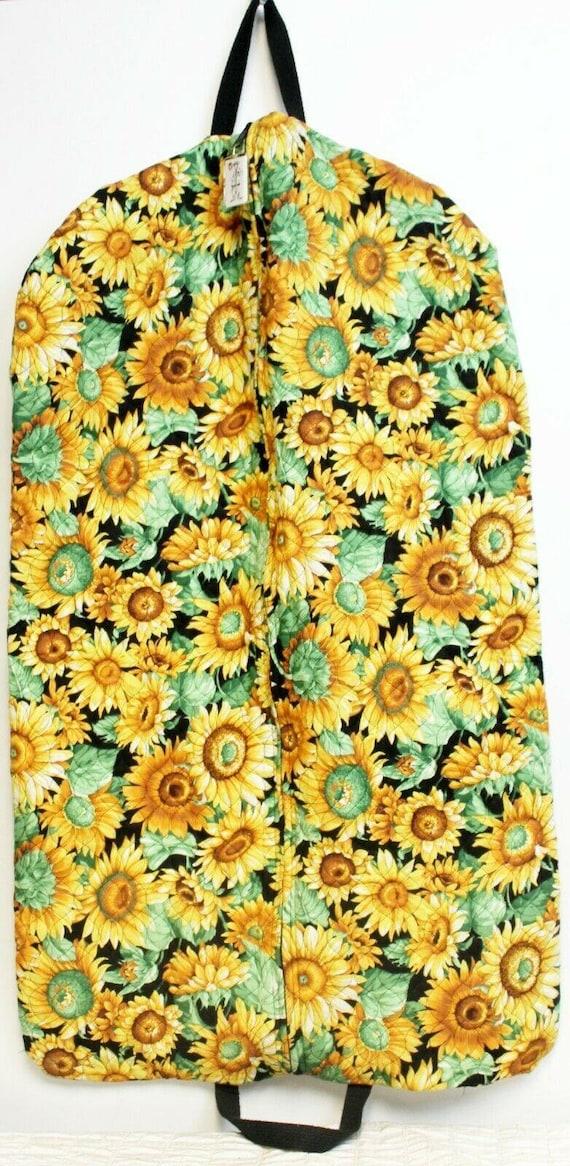 VTG 1990s Travel Bags by Sandra Floral Sunflower Q