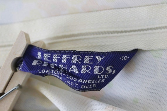 Shirt Jeffery Richards 70s Polyester Tank Shirt B… - image 8