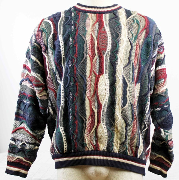 Cotton Traders Sweater Men Lg  Coogi-cosby-style W
