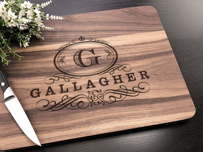 Personalized Cutting Board  Customized Wedding Gift for the image 0