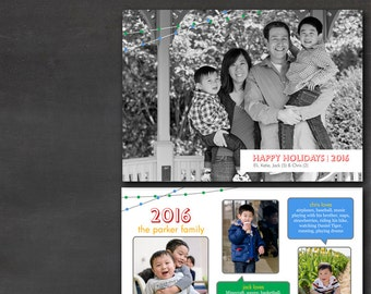 Holiday/Adoption Announcement (Set of 50+) -  Year