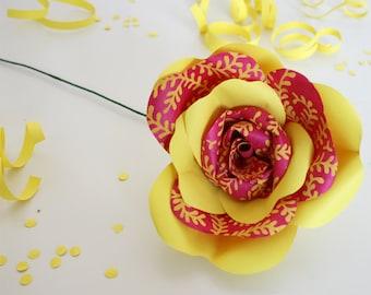 Fiesta Paper Rose Paper Flower Celebration