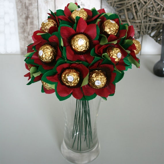 The Edible Posie. Bouquet of Ferrero Rocher Chocolates. | Etsy