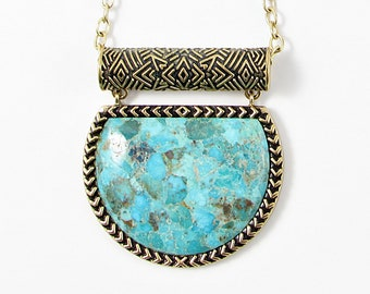 Barse takes only the finest stones for their jewelry 192 grms Barse sterling /& turquoise necklace almost 7 ounces 4178
