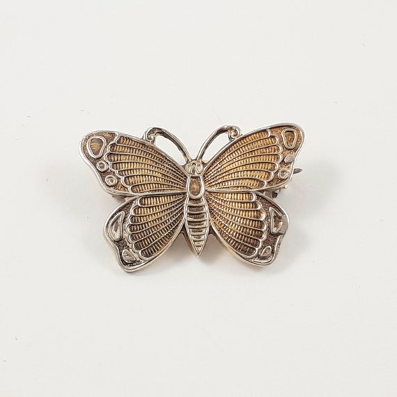 Gold and Silver Butterfly Mini Pins