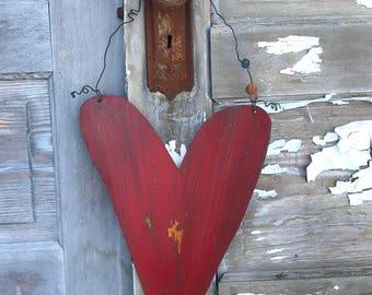 Heart, Garden Sign, Metal Heart, Farmhouse Decor, Yard art, Door Decor, Home Decor, Rustic Decor, Heart Decor, Garden Decor, Country Decor
