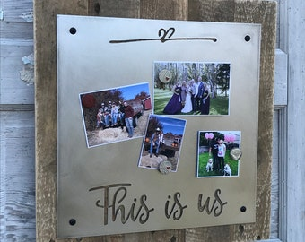 This is us sign, Rustic Home Decor, Rustic Signs, Farmhouse Nursery Decor, Farmhouse Style, Fixer Upper Style, Wedding Baby Shower Gift