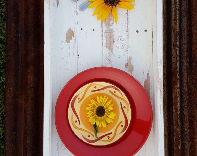 Rustic Tray, Ottoman Tray, Large Tray, Rustic Home Decor, Wooden Tray, Serving Tray, Farmhouse Tray, Wedding Decor, Kitchen tray, Farmhouse