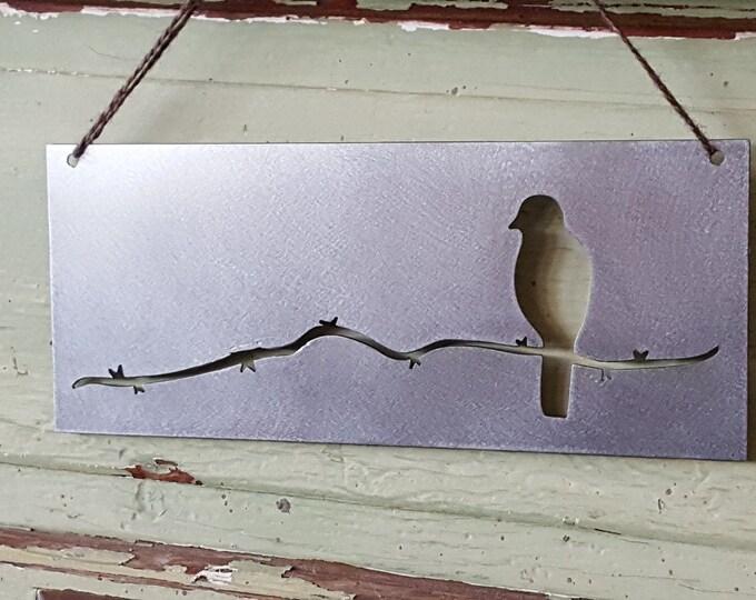 Birds, Bird Signs, Spring Decor, Farmhouse Decor, Rustic Signs, Rustic Metal Signs, Rustic Decor, Farmhouse Signs, Garden Signs, Metal Signs