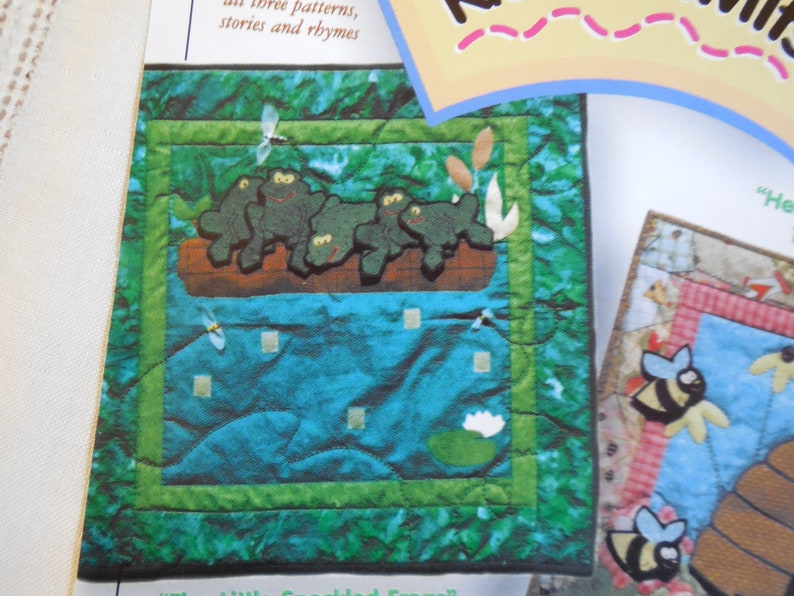 Nursery Rhyme Quilts by Log Cabin Quilts