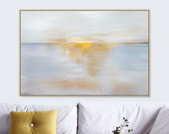 Large Landscape Painting, Large wall art, Gold Art, Large Abstract Painting, Printable Art, Sunset Print, A0 Print, 24x36 print, Dan Hobday