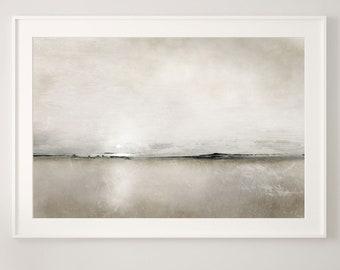 Large Landscape Painting, Large wall art, Coastal Art, Large Abstract Painting, Printable Art, Minimal Wall Art, 30x40 Wall Art, Dan Hobday