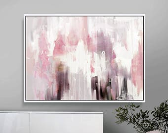 Pink And Grey Decor Etsy