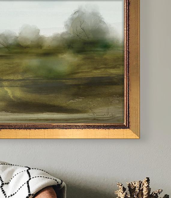 A0 A1 A2 A3 A4 Sizes Scottish Highlands Landscape Art Large Poster Print