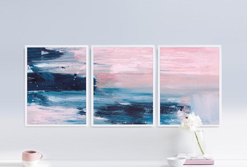 e58510a1a7888 Set of 3 Prints Abstract Art Print Set 3 Abstract Prints