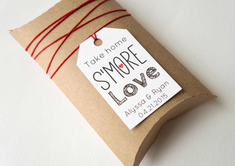 Dorable Smore Wedding Favors Component - The Wedding Ideas ...