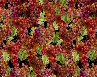Uncorked Red Grapes 89186-673 from Wilmington by the yard