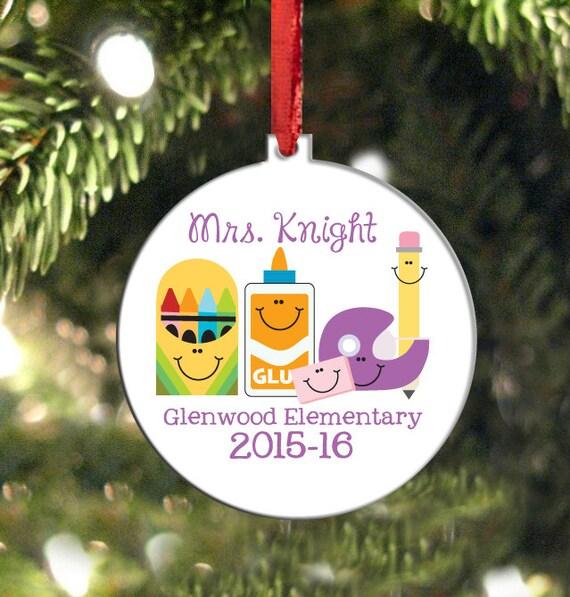 image 0 - Teacher Ornament Christmas Ornament For Teachers Etsy