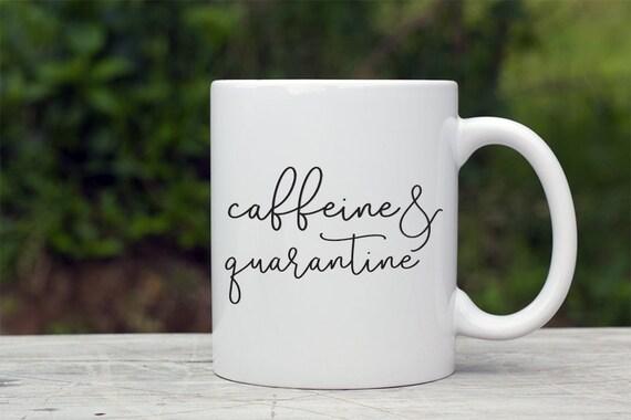 quarantine coffee mug Coronavirus Coffee Mug Eat Sleep Quarantine Repeat