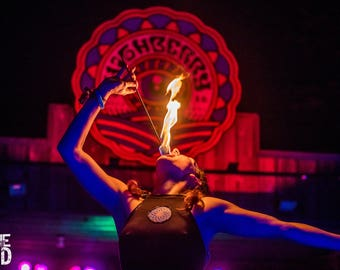 Firelight at Highberry Festival 5x7