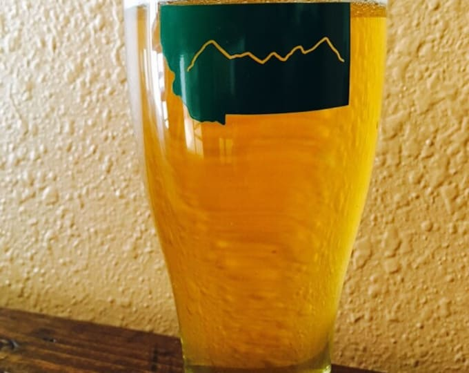 Montana Beer Glass