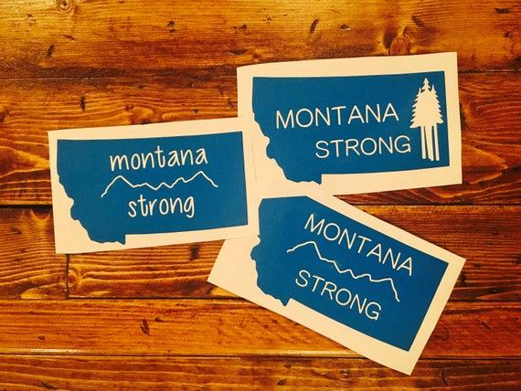 Montana Strong Decal *Fundraiser