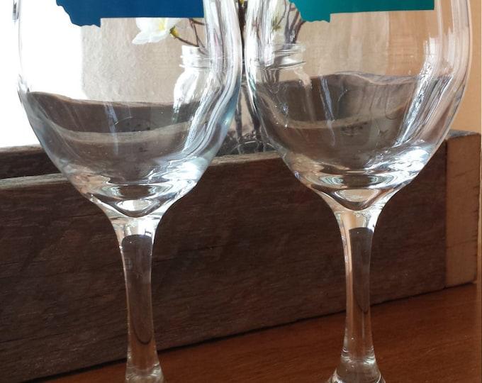 Stemmed Montana Wine Glass