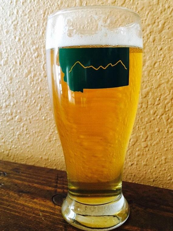 Montana Beer Glass