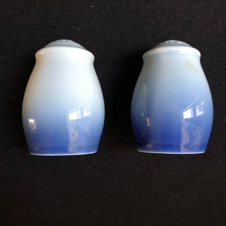 Vintage Bing and Grondahl Christmas Rose Salt and Pepper Shakers