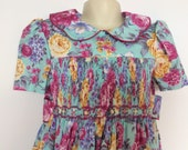 Girls smocked dress size 6. Other sizes made to order