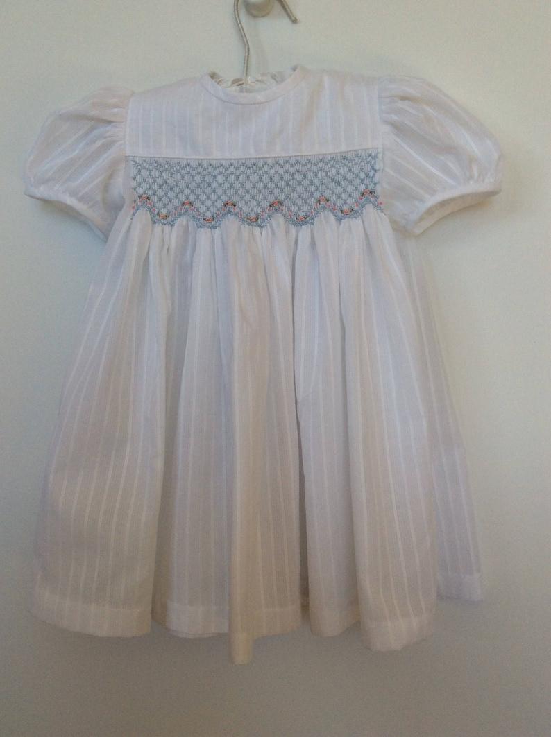 ed4a89bc8857 Baby girl smocked dress