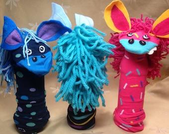 Sock Puppet - Horse