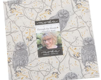 Through the Woods Layer Cake 42pc Bundle by Sweetfire Road for Moda