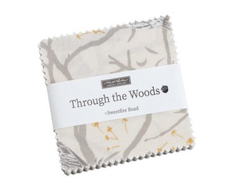 Through the Woods Mini Charm Pack 42pc Bundle from Sweetfire Road for Moda