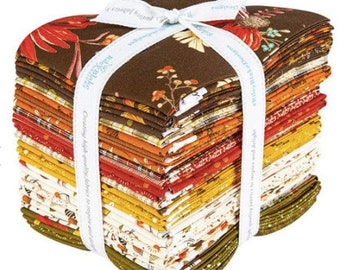 Adel in Autumn Fat Quarter Bundle by Sandy Gervais for Riley Blake