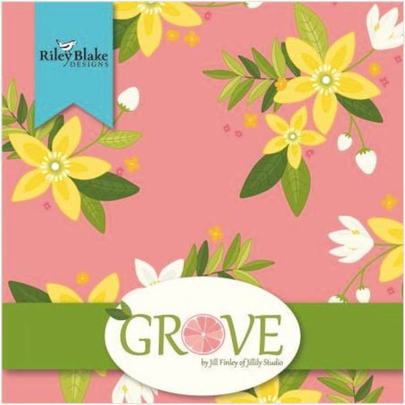 Grove 10 Stacker by Jill Finley for Riley Blake