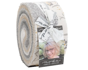 Through the Woods Jelly Roll by Sweetfire Road for Moda