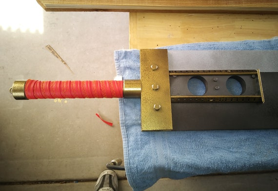 Cloud Strife Buster Sword Replica Inspired From Final Fantasy Vii 5 Foot Narrow Version Of The 7 Width