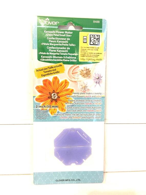 Kanzashi Daisy Maker, fabric flower template, Japanese Flower, DIY ...