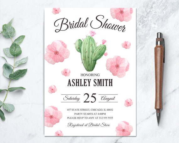 117d34fd6b8b Fiesta Bridal Shower Invite