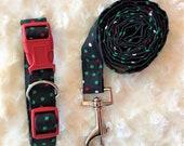 Leash/Collar gift sets. Christmas Dog collars/leashes. Custom collars.