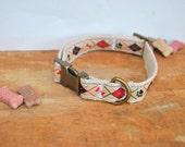Hemp Dog Collar. Hemp. Eco Friendly. Argyle Hemp Dog Collar. Dog Collar.