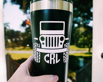 Jeep Tumbler Lover Gift