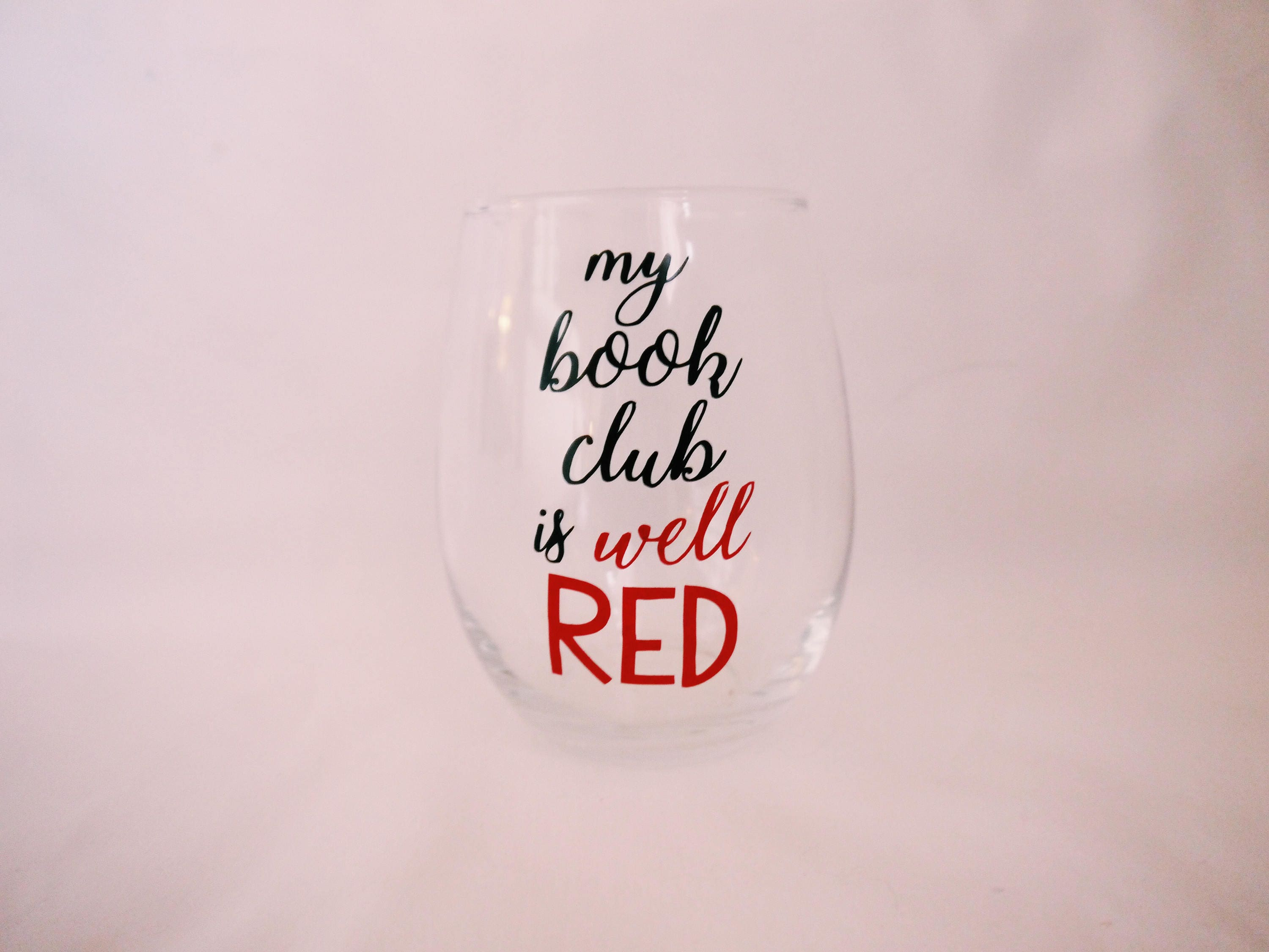 Book Club Wine Charms Book Group Wine Glass Markers Book Teacher Gift