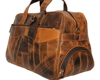 721505337 Leather Duffel Bag, Leather Travel Bag, Distressed Leather Weekender,  Leather Luggage, Full Grain Leather Overnight Bag, Gifts For Men