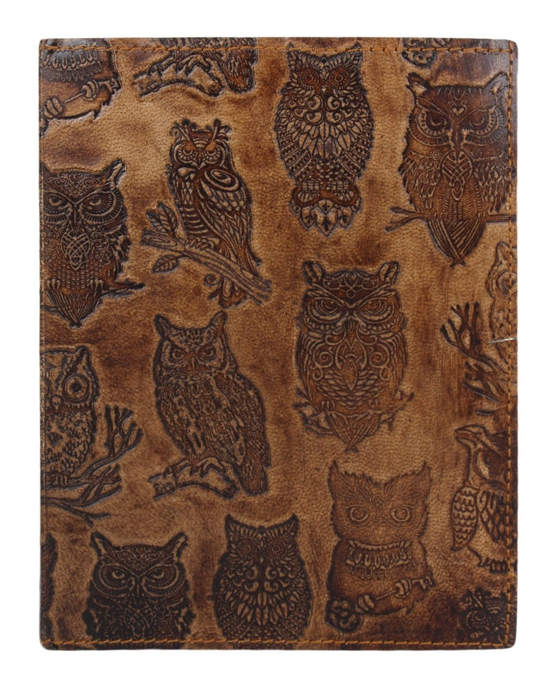 49973c1402dd6e Valentine s Day Leather Owl Journal Handmade Vintage