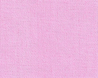 Stoff Baumwolle / Canvas Stoff in rosa