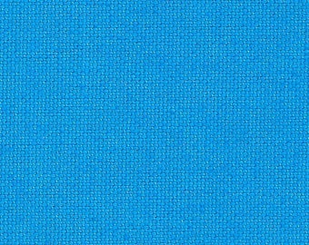 Stoff Baumwolle / Canvas Stoff in türkis